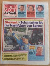 MOTOR SPORT aktuell 11-18.1. 1-3 - 1995 Schumacher Jackie Stewart Gerhard Berger