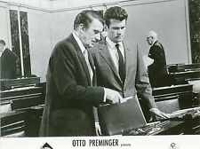 DON MURRAY ADVISE & CONSENT 1962 OTTO PREMINGER VINTAGE LOBBY CARD N°12