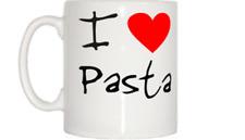 I Love Heart Pasta Mug