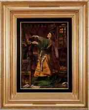 Sandys Frederick Sandys Morgan Le Fay A3 Box Canvas