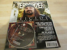 TERRORIZER MUSIC MAGAZINE NO 170 with original  cd DEICIDE , IN FLAMES