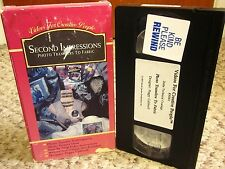 SECOND IMPRESSIONS craft instruction Photo Transfer to Fabric VHS Peggy Caldwell