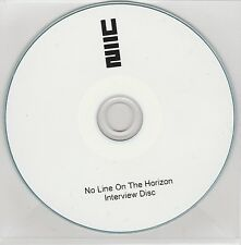 U2 - No Line On The Horizon - Rare UK 45 minute promo only interview CD