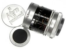 Kern 12.5mm f1.3 H8RX Macro-Switar C mount  #856966