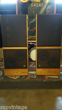RARE Vtg INFINITY RS 4.5 (1B) Stereo Speakers - 1-Owner in Mint Condition