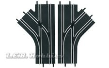 Carrera GO!!! Mechanical Lane Change Sections for 1/43 slot car track 2/pk 61618