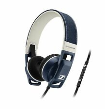 Sennheiser URBANITE ON-EAR CUFFIE in Denim Per iPhone iPod iPad Apple iOS
