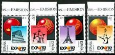 """SPAIN - SPAGNA - 1989 - """"Expo '92"""". Esposizione Universale di Siviglia (4)."""