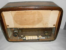 Vintage Telefunken Wood Multiband Tube Radio Western Germany