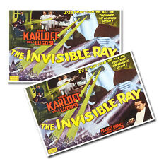"""Two The Invisible Ray Horror Movie Boris Karloff 11x17"""" Wall Posters"""