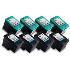 8pk Printronic For Hp 92 93 C9362WN C9361WN Black Color Ink Cartridge