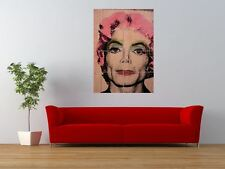 MICHAEL JACKSON MARYLIN MONROE MR BRAINWASH GIANT ART PRINT PANEL POSTER NOR0525