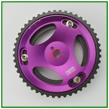 Purple Cam Gear Pulley for Mitsubishi 4G63 Lancer EVO 1-8 VR4 ECLIPSE DSM 1pcs