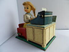"""Vintage Battery Operated Toy """"The Busy Secretary"""""""
