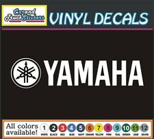"12"" Yamaha Motorcycle Drum Music Guitar Waverunner Vinyl Decal window sticker"