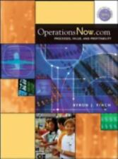OperationsNow. Com: Processes, Value, and Profitability Finch, Byron J. Hardcov