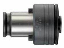 "BILZ WES 1B 1/8"" SS PIPE Quick Change Tap Adapter With Clutch 1/8"" NPT"