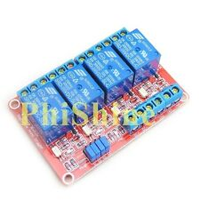 5V 4 Channel Relay Module With Optocoupler High and Low Level Trigger
