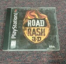 Road Rash 3D  (PlayStation, 1998), missing back cover artwork