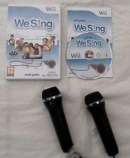 WE SING PLUS MICROPHONES WII