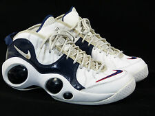 Nike Zoom Flight 95 Sz 10 Olympics - air retro 2008 navy blue red kidd five usa