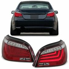 CLEAR LED REAR LIGHTS + LIGHTBAR LAMPS FOR BMW E60 5 SERIES SALOON 7/03-2/07