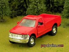Red Die Cast City Pickup based on A Ford  O Scale 1:43