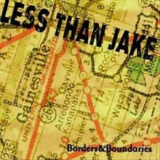 Borders & Boundaries - By Less than Jake (CD, Oct-2000, 2 Discs, Fat Wreck