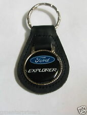 Ford Explorer Leather Keychain Key Fob (#661)