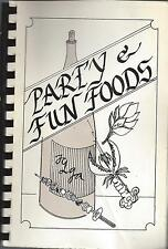 *FORT WORTH TX 1983 TARRANT COUNTY TCLGA COOK BOOK *PARTY & FUN FOODS *TEXAS