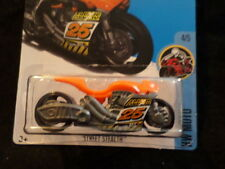 HW HOT WHEELS 2017 HW MOTO #4/5 STREET STEALTH ORANGE HOTWHEELS VHTF