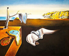 The Persistence of Memory by Salvador Dali A2+ Canvas Print