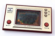 Game And Watch Octopus Wide Screen Nintendo System Japan Loose