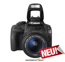 Canon EOS 100D EF-S 18-55mm DCIII Digitale Spiegelreflexkamera 8GB Karte + Zub.