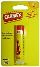 Classic CARMEX Moisturising Lip Balm SPF 15 Original Stick 4,25g *New & Sealed*
