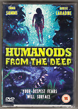 HUMANOIDS FROM THE DEEP - EMMA SAMMS, ROBERT CARADINE - NEW & SEALED R2 DVD