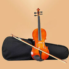 1/4 VIOLIN / FIDDLE +CASE + BOW +ROSIN NAOMI 1/4  VIOLIN FOR 6-8 YEARS OLD
