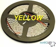24VDC SMD3528 LED strip Yellow, 5m (48W, 600LEDs), IP20 120LEDs/m 9.6W/m