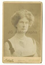 19th Century Fashion - 1800s Cabinet Card Photograph - Lafayette of London