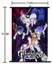 HOT Anime DIABOLIK LOVERS Wall Poster Scroll Home Decor Cosplay 487