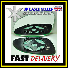 Left Passenger Side Wing Mirror Glass HEATED  VW PASSAT B6 2005-2010