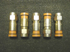 5 Thomas & Betts RG59 Compression Snap-N-Seal Ends Cable Bell Shaw Direct TV