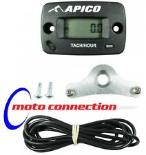 APICO HOUR METER + BRACKET -  KAWASAKI KX250F KX450F  MOTOCROSS - All Years