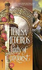 Lady of Conquest Medeiros, Teresa Mass Market Paperback