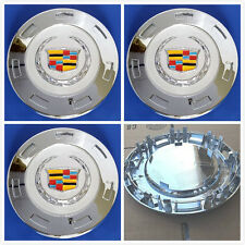 4X Genuine GM Cadillac Escalade 22 inch wheel center Hub caps 9596649 2007-2014