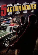 5 ACTION MOVIES / (FULL)-5 ACTION MOVIES / (FULL) DVD NEW