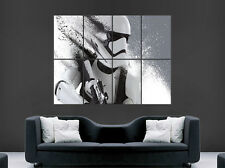 STORMTROOPER STAR WARS POSTER ABSTRACT TRIPPY ART LARGE GIANT WALL  PICTURE