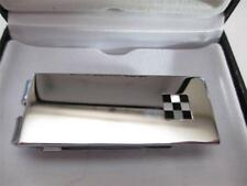 Colibri Racer Stainless Steel Black Onyx & Mother-of-Pearl Money Clip AMC040000