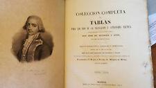Jose Antonio de Mendoza Tables Nautical Navigation 1850 Spanish First Edition