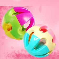 Lovely Colorful Plastic Rattle Shake Bell Baby Kids' Educational Gifts Ball Toy